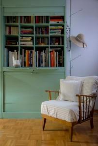 In Deutschland ein Muss: Bücher im Wohnzimmer. Fotoquelle: Börsenverein des Dt. Buchhandels e.V. / Heike Rost