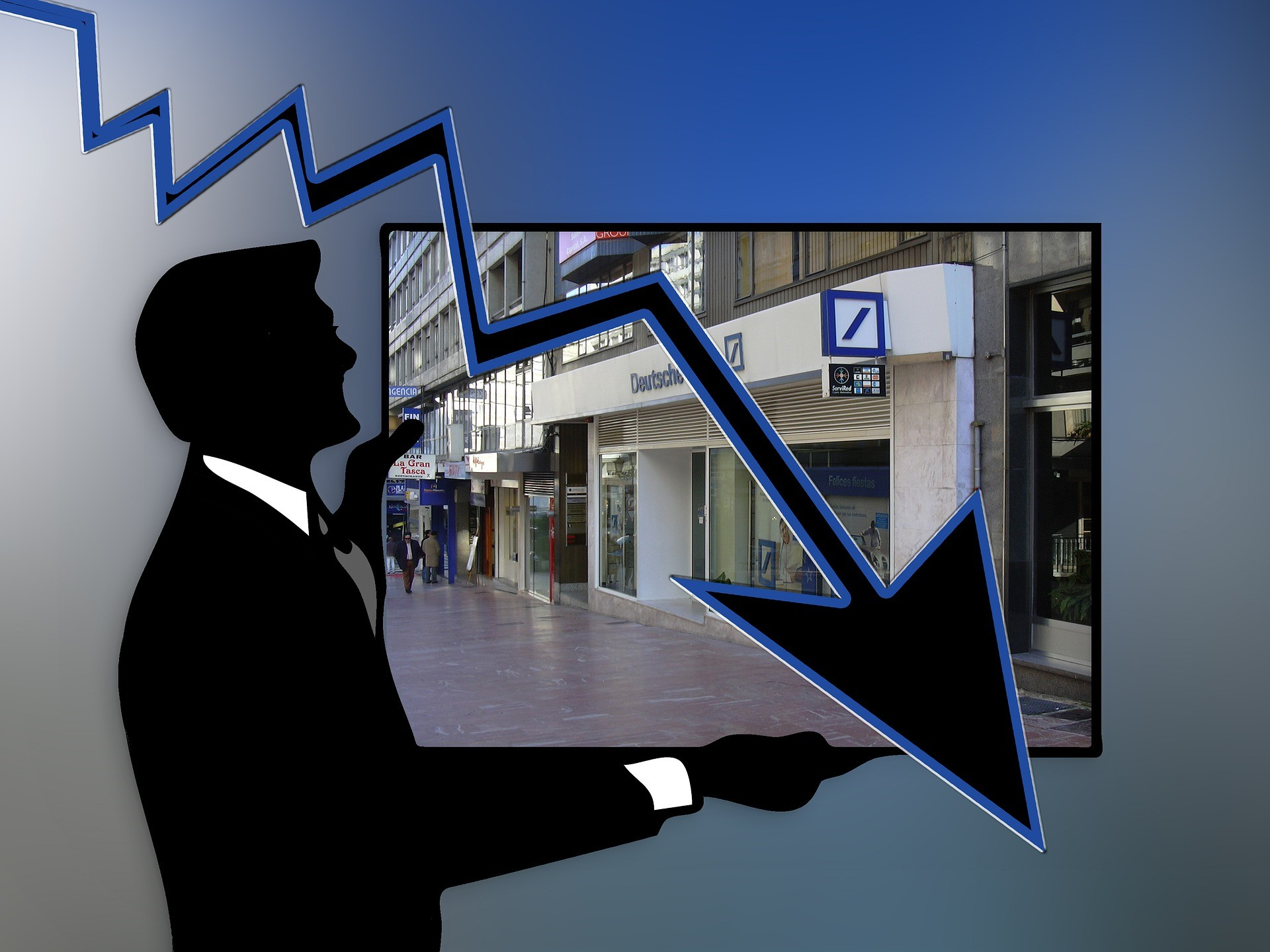 Deutsche Bank sucht Geld!