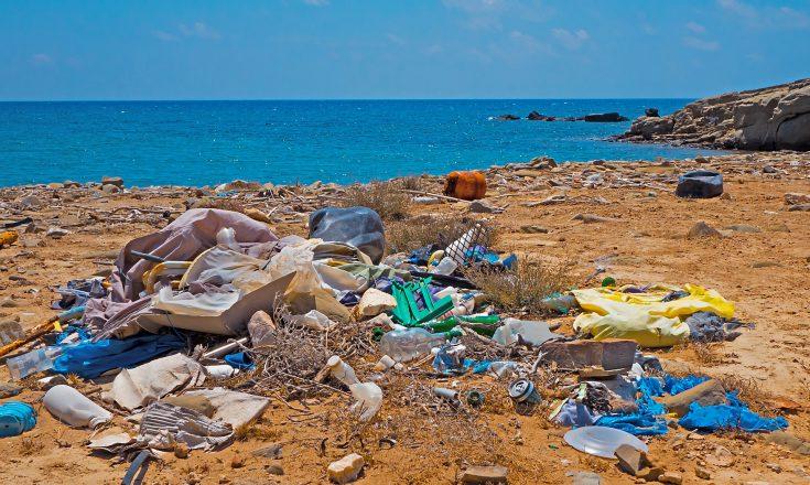 Müll - nicht nur am Strand vermeiden.