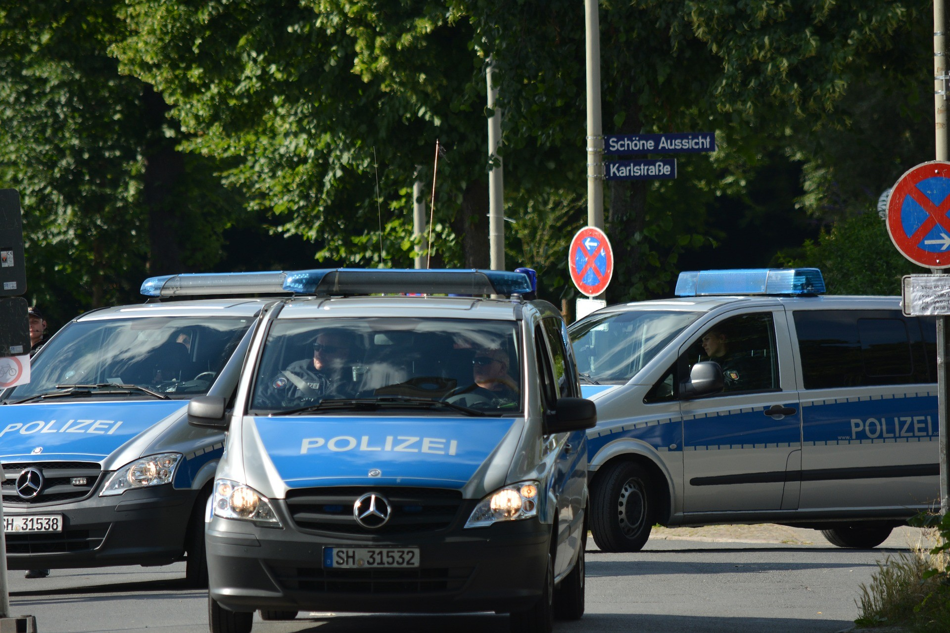 Bestechung der Polizei?